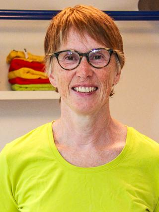 Margarete Straub-Ott. Physiotherapeutin und Praxis-Inhaberin.